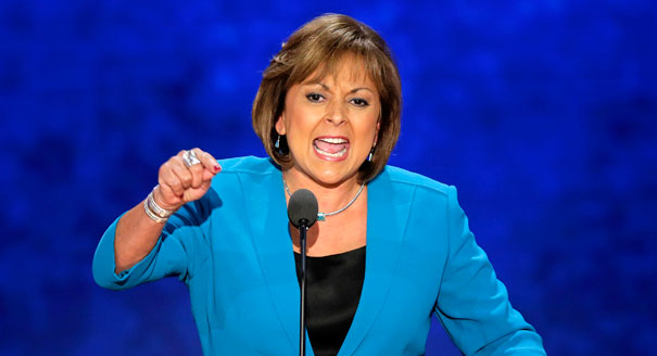 Republican Governor Suzanne Martinez
