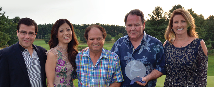 Roland Ornelas, Regina Chin, Carlos Andrade, John Pruett, Melanie King (Carlos & John both received the John Henderson Award at this year's tournament)