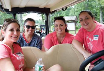 Volunteers: Jackie Finn, Stephanie Smith, Kelly Estes, Laura Magnani