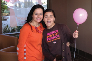 Daughter Nina and Sonia at store Grand Opening_fmt
