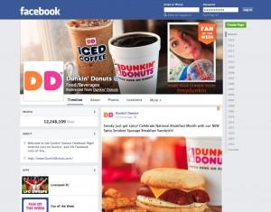Dunkin-Donuts-Facebook