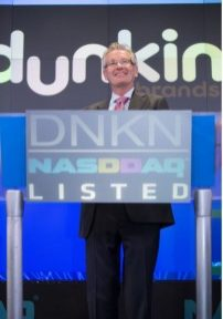 Nigel Travis, Dunkin' Brands CEO