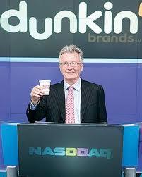 Nigel Travis Toasting NASDAQ