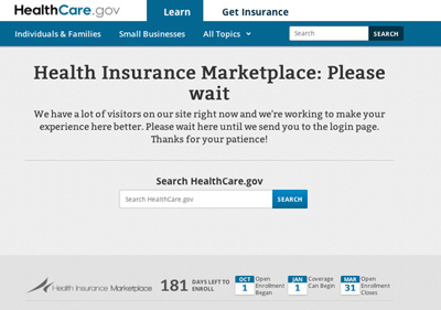 Glitches meant delays Tuesday morning for Missouri and Illinois residents trying to shop on the new health insurance exchanges, a key part of President Barack Obama's health care law.