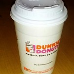 Recycelable Paper Cups from Dunkin Donuts - Eva Walsh
